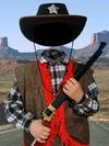 Шериф - костюм, привычка для того фотошопа (B4202030)