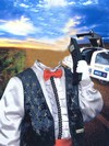 Джентельмен - костюм в целях мальчика, трюизм Photoshop скачать