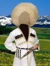 Джигит - образец костюма ради ребёнка (Photoshop)