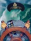Моряк, условный костюм на ребёнка, psd