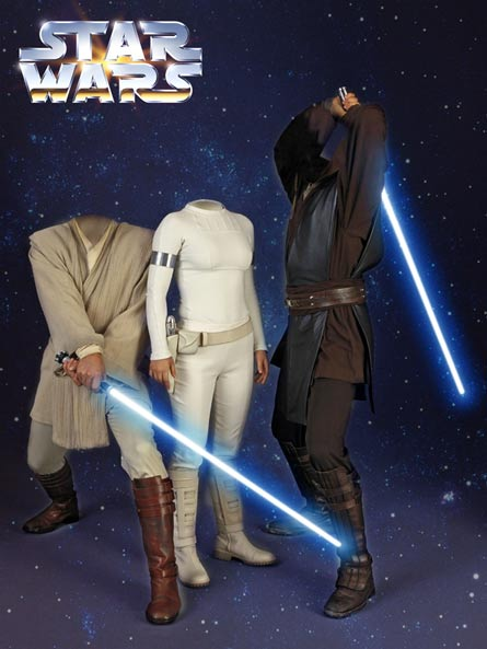 Звёздные войны - виртуальный костюм, шаблон для фотошопа