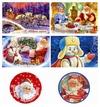 Новогодние открытки с Дедом Морозом (jpg)