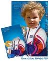 Олимпиада 0014, наивный атлетический костюм (шаблон PSD