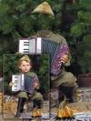 Солдатик - фотошоп шаблон для мальчика к 9 мая
